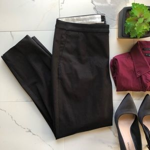 J. Crew Martie Slim Black Cropped Dress Pants